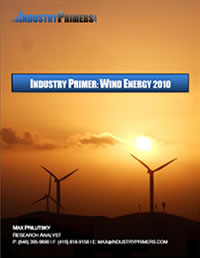 Industry Primer: Wind Energy 2010